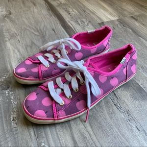 Kate Spade x Keds Pink Apple Sneakers Lace Up 6